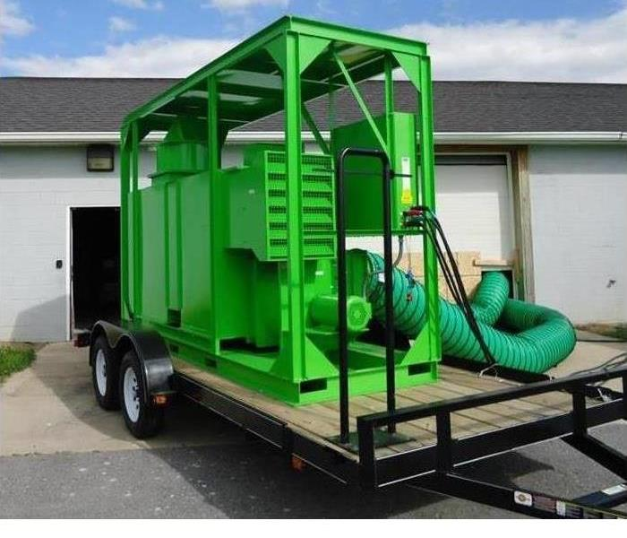 Desiccant Dehumidifier for Commercial Losses